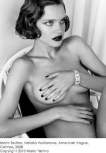 Natalia Vodianova por Mario Testino