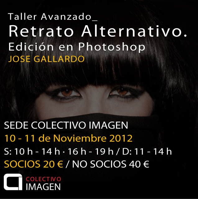 Taller Retrato Alternativo. Edición en Photoshop