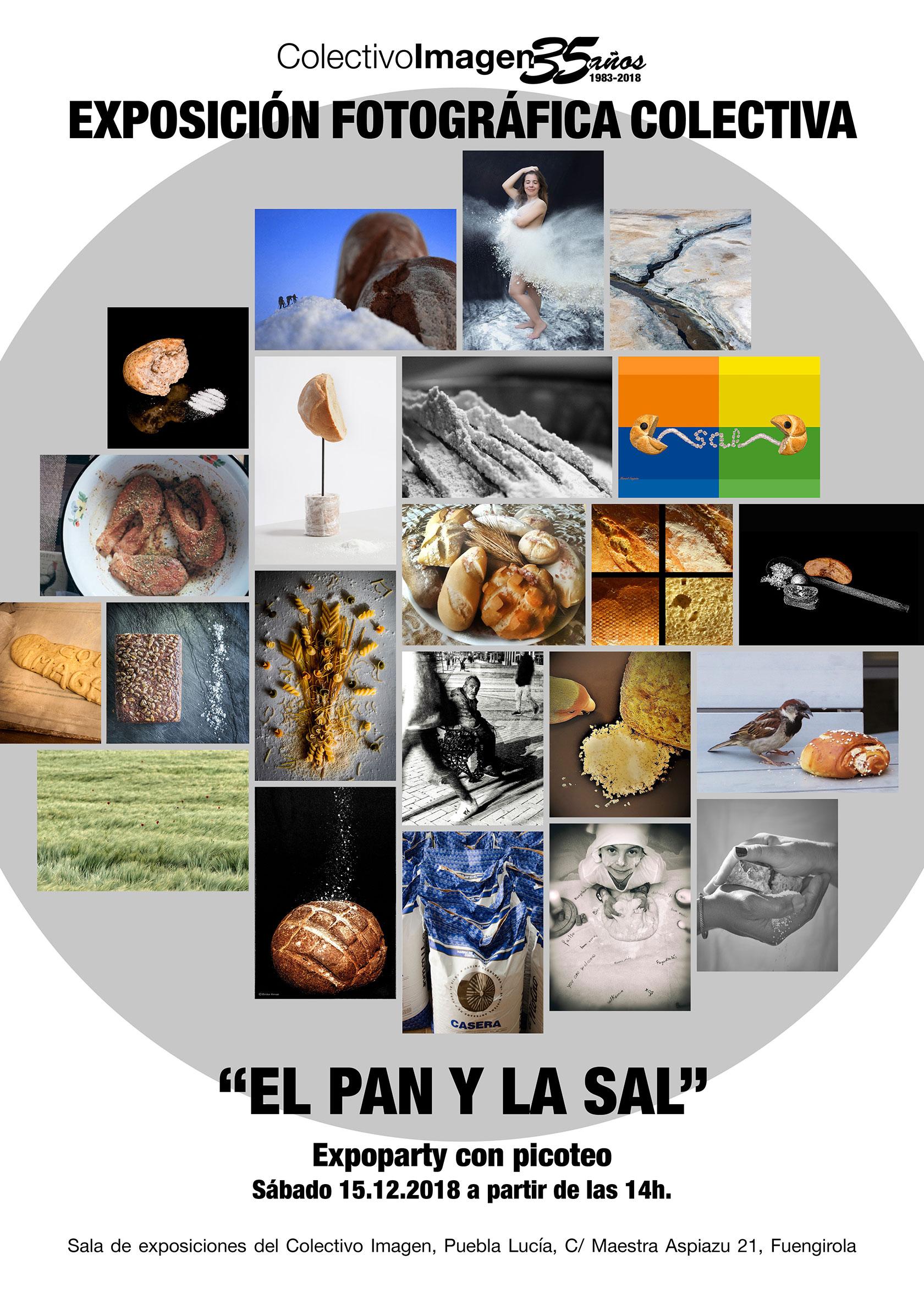 Exposición Colectiva: El pan y la sal