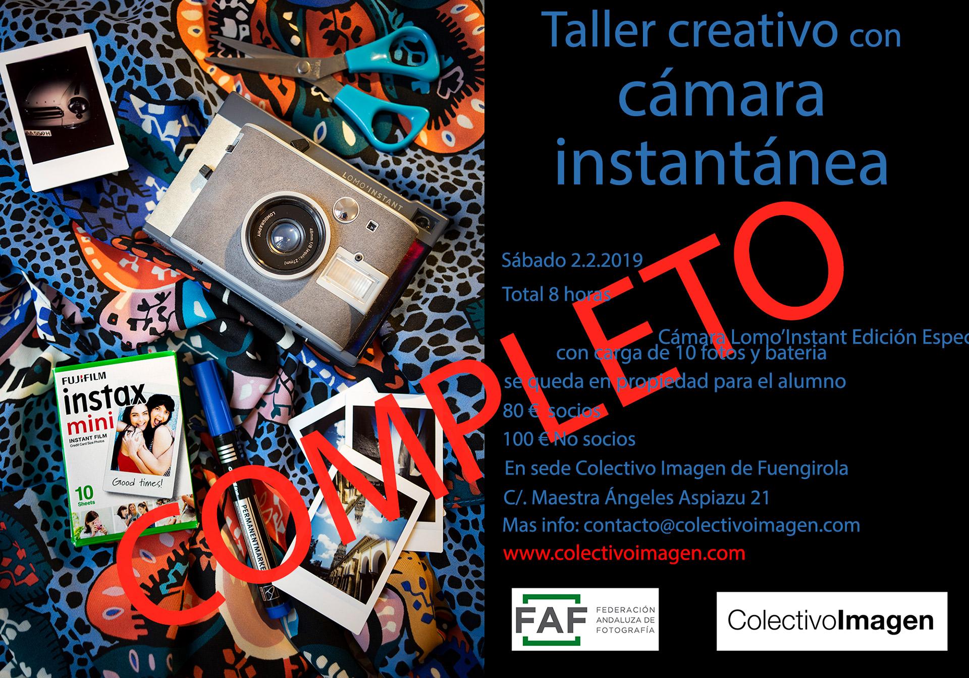Taller Creativo con Cámara Instantánea - Javier Gestoso