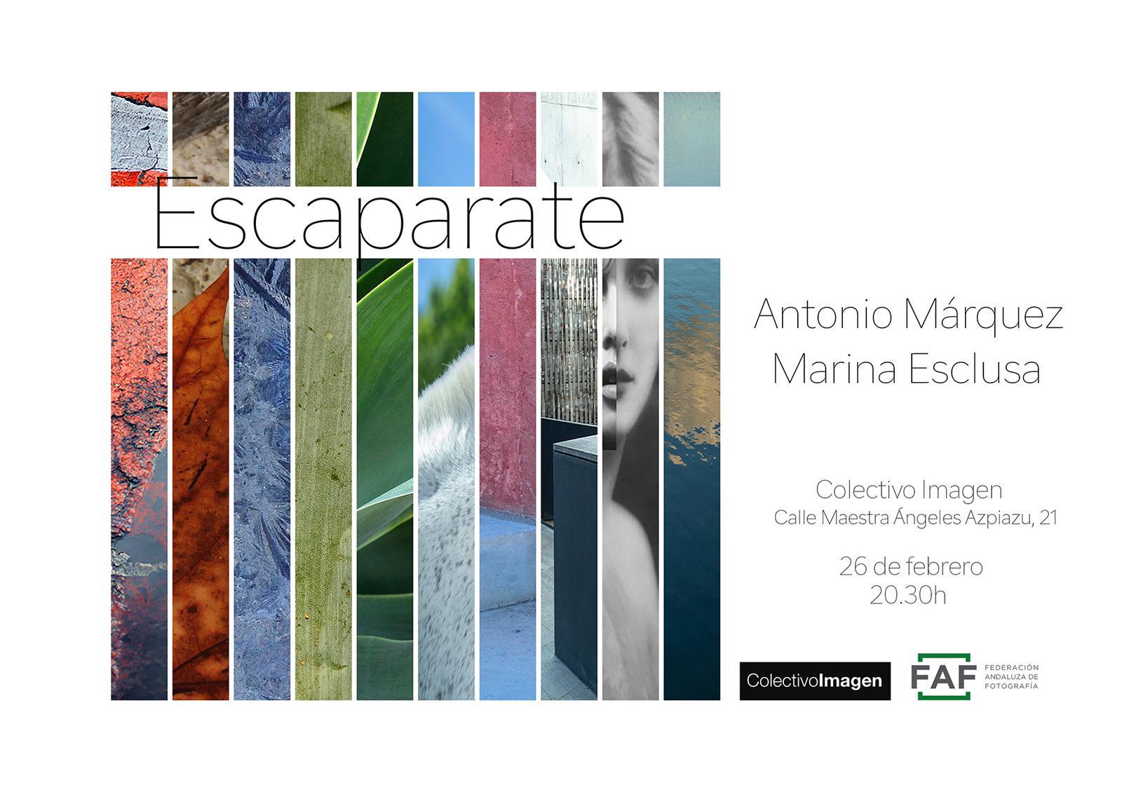 El Escaparate, con Marina Esclusa y Antonio Márquez