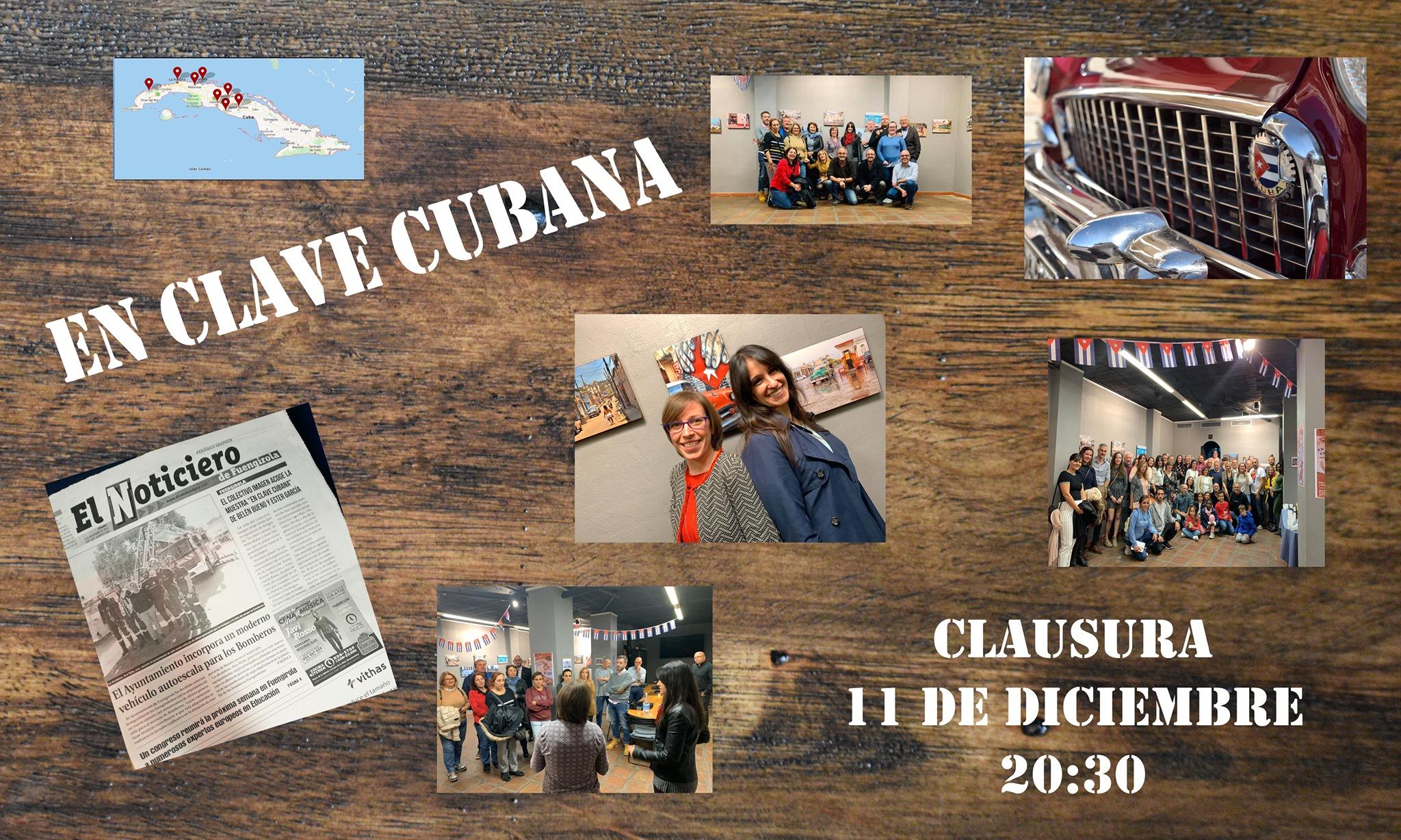 Clausura de En Clave Cubana, de Belén Bueno y Ester García
