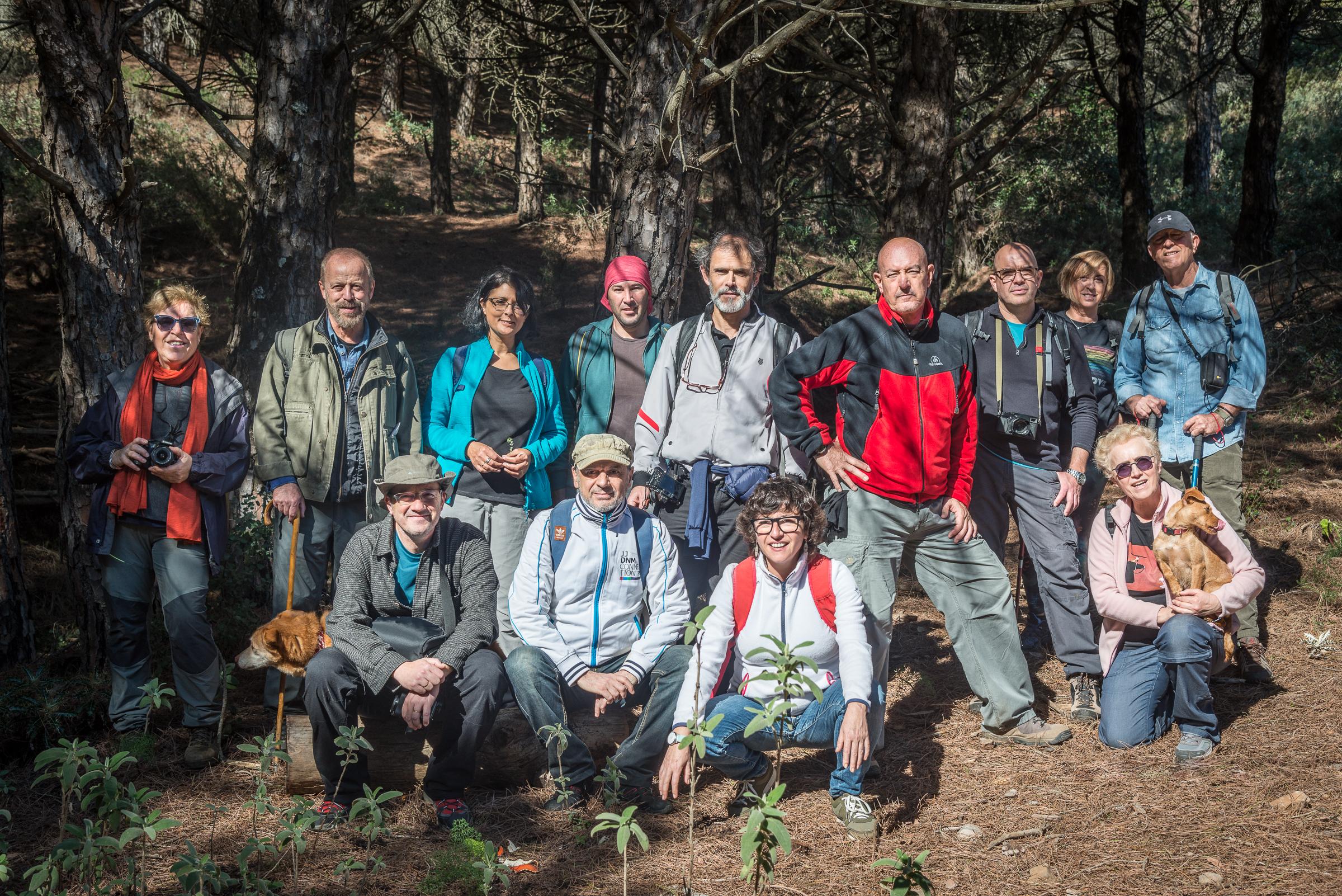 Colectivo Imagen en la Sierra de Mijas