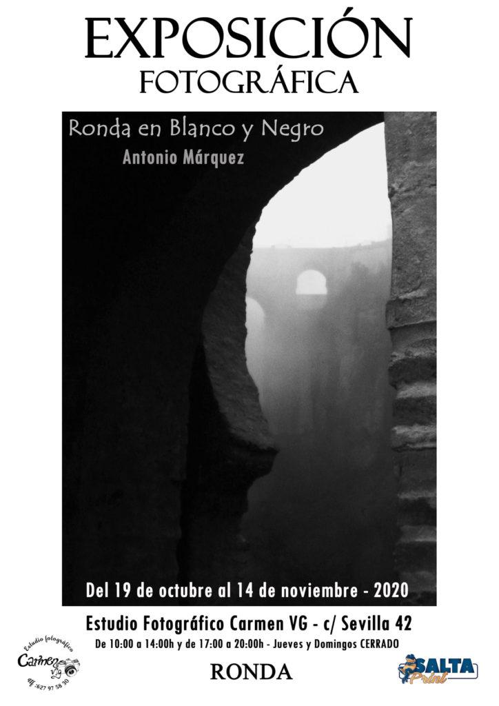 Ronda en Blanco y Negro - Antonio Márquez