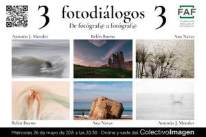 Fotodiálogos: Ana Navas, Antonio J. Morales y Belén Bueno
