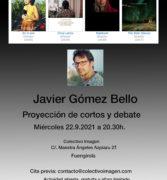 Proyección de cortos de Javier Gómez Bello